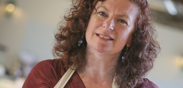 Waste not, want not Food, glorious food as kitchen queen Denise rescues ingredients from landfill