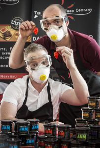 Hamper Llangollen. The Dangerous Food Company. Llyr Jones and Dominic Haynes.